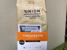 Hand roasted ground coffee